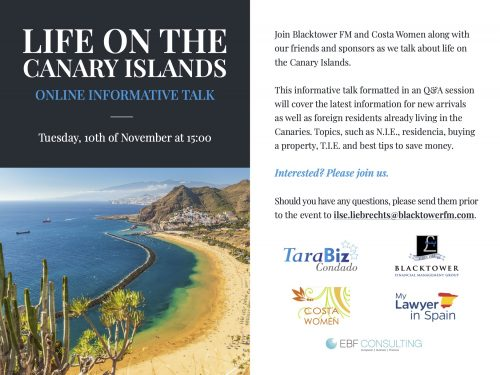 Moving to the Canary Islands