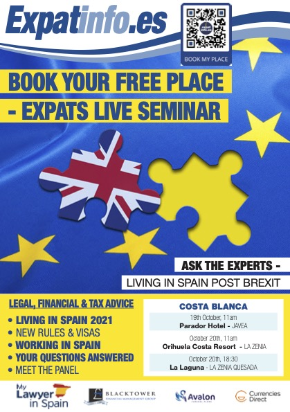 Free Seminar about moving to Spain